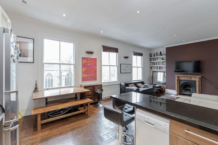 Beautiful 4 bedroom & 2 bath flat
