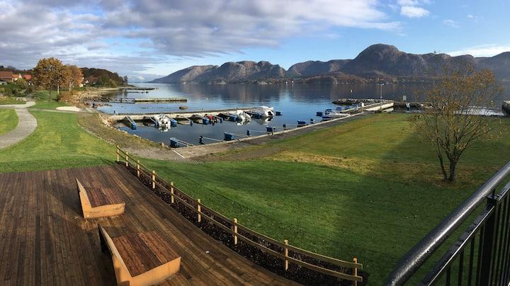 Logement indépendant calme et proche du fjord