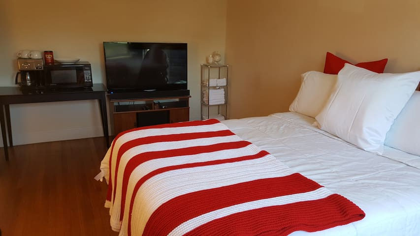 Private Room with Cable and WiFi - Mount Vernon - Flat