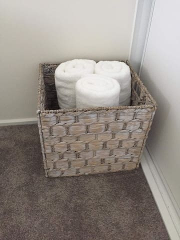 Our towels and bedding are always professionally laundered - 100% hygienically clean always, we don't get lazy! We are here for you. Soft stuff! Not the ruff crap ones!
