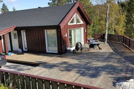 Koselig hytte i Telemark, Norge - Treungen