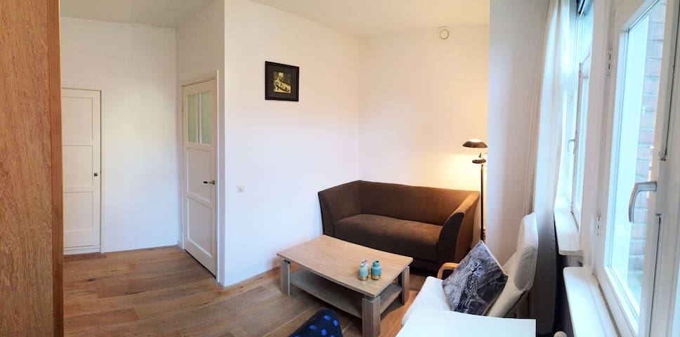 Private bed room and living room - Amsterdã