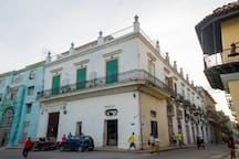 Loft Habana from the street