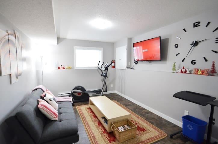 Business Ready Basement suite in Kensington