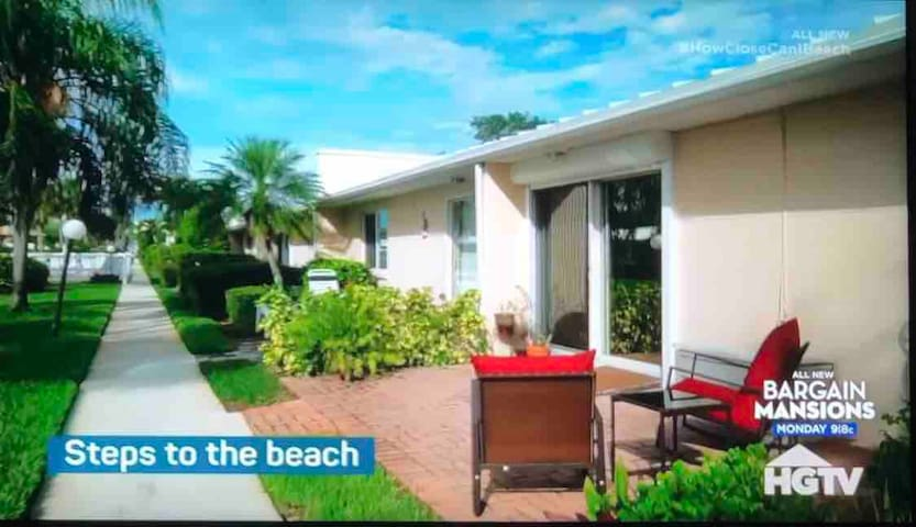 Beachfront Condo! Shown on HGTV! Renovated in 2018
