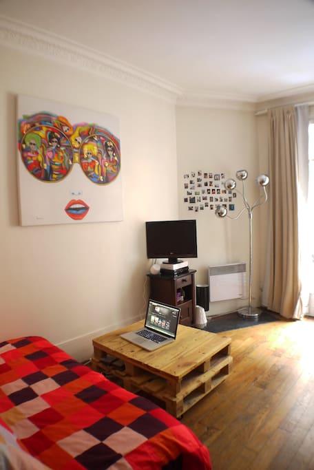 La pièce à vivre (2)