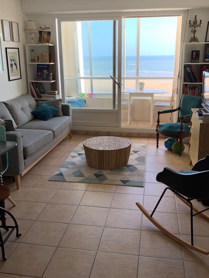 Appartement F3, Les Marinas, vue sur mer