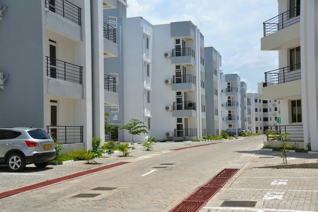 View of the Apartments at Sea Breeze Residential Apartments