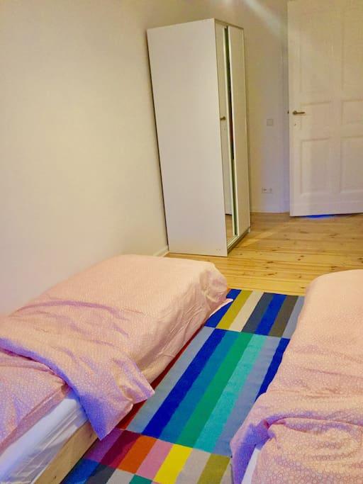 Raum ca./ Room space aprox. 3m x 5m