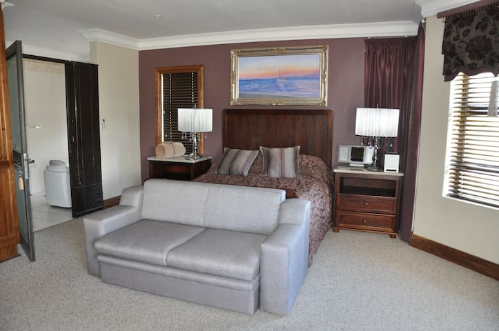 Rooms are very large and spacious
