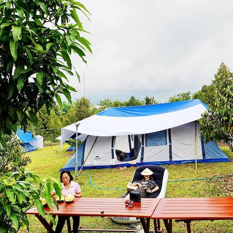 Orchard Garden Tent - Cat Tien National Park