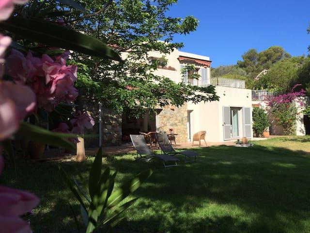Belle maison Davia avec vue mer - Corbara - Huis