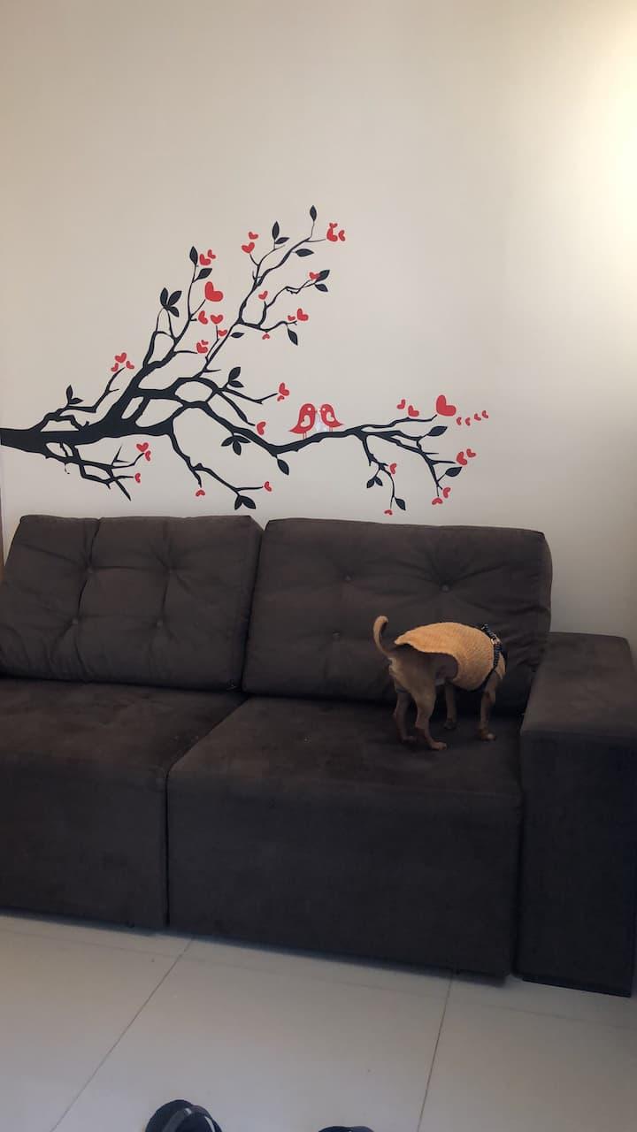 Quarto em Apartamento  - Belo Horizonte