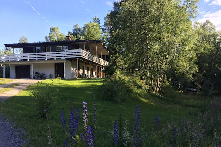 Country guesthouse @20km Oslo/Free Bikes & Kayak