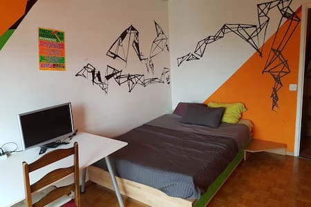 furnished, new flat, well situated - Carouge