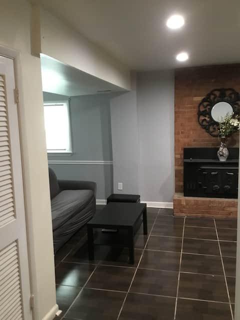Cozy Apartment Style Basement Near DC