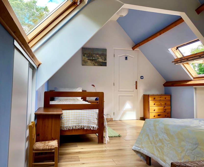 View of Single Bed in En-Suite Bedroom
