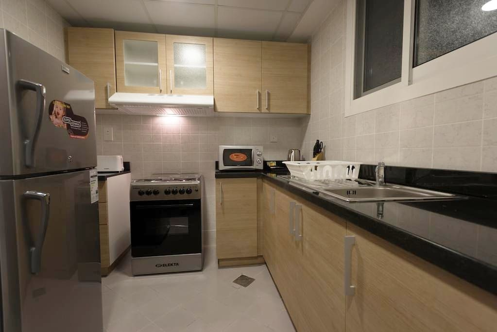 Equipped & privy kitchen