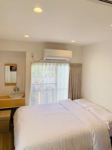 橘荘201(只限女性房客)温馨舒适干净的小屋。距池袋电车徒步10分钟。近各种百货店,太阳城阳光60等