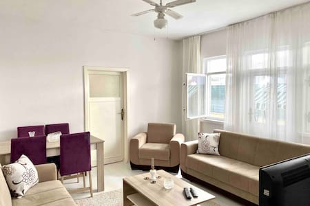 2 Bedroom Flat with Balcony in Didim City Center