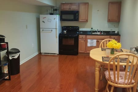 Huge Furnished Private Basement Apt - Fort Washington - Apartment