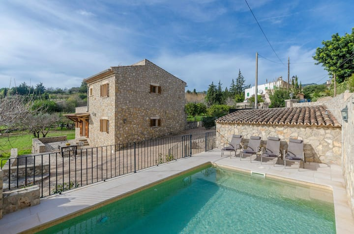 YourHouse Son Sant Joan finca with pool at Alaró, for 6 guests