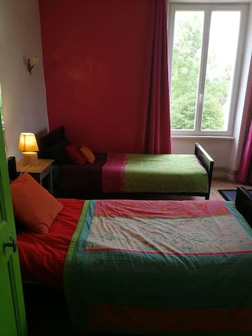 Chambre avec vue champêtre
