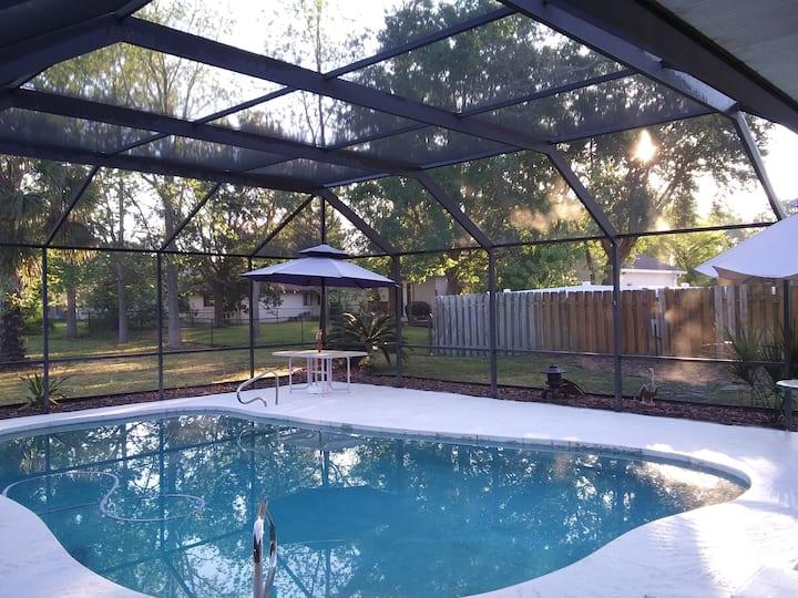 King Master Bedroom Ste & pool. Option entire home