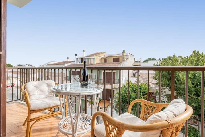 Charming Apartment on Longest Mallorcan Beach - Can Aleix