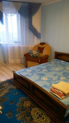 Центр, Лескова3, WI-FI, мебель,техника,ремонт - Oryol - Leilighet