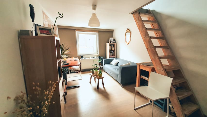 chill duplex studio close to the train station