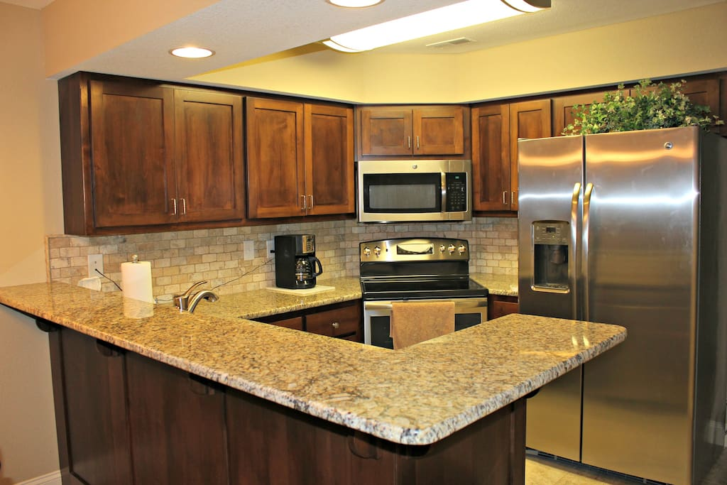 Everything you need to cook in this newly remodeled kitchen!