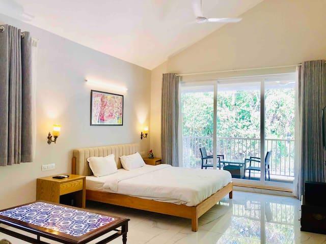 White Casa Villa luxurious 3 Bhk  in North Goa