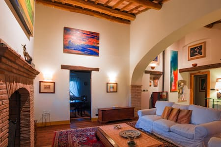 Luxury apartment with view of Assisi at L'Olmo - Bettona