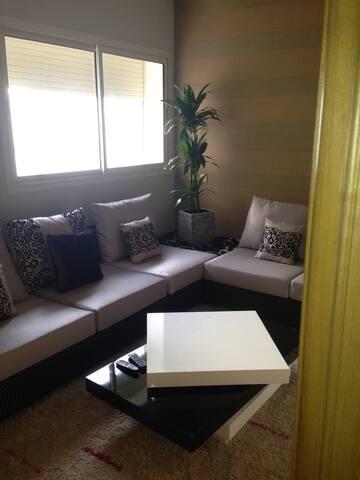 Appartement sur nouceur résidence