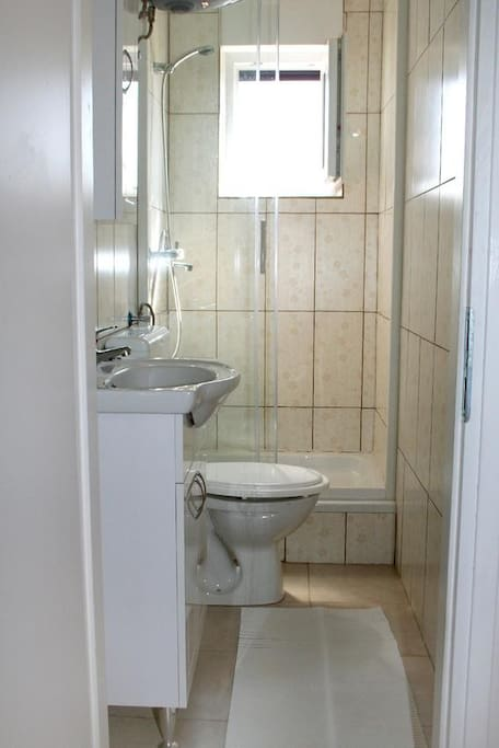 Bathroom, Surface: 3 m²