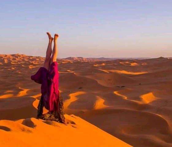 accommodatoin and desert trips travel in Mhamid