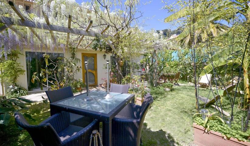Petite Maison aux portes de Monaco avec Jardin