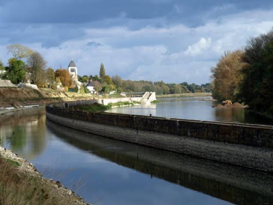 La Loire toute proche