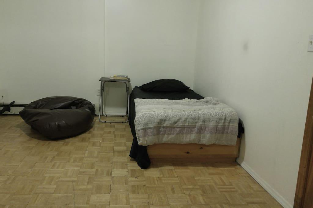 the privet bedroom