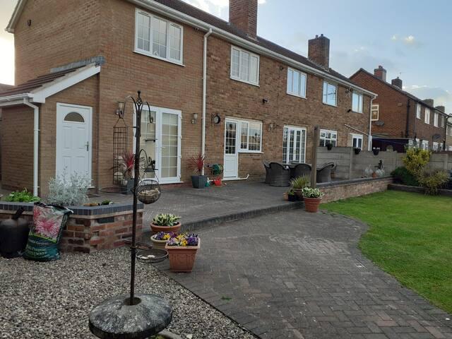 modern Annex  in a quiet residential area