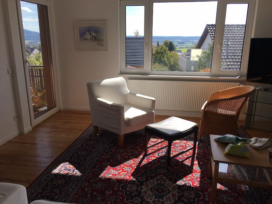 Wohnzimmer Balkon-Whg EG