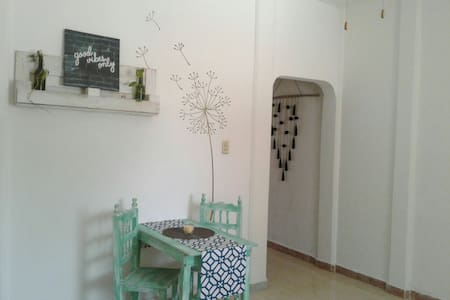 Cozy and fresh apartment, 3 min walk to the beach - Puerto Morelos - 公寓