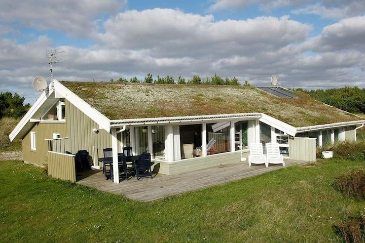 Maison de vacances de charme à Blokhus avec piscine