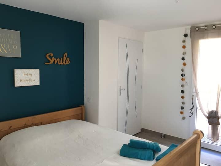 Chambre dans maison sur le haut du Bourget du lac