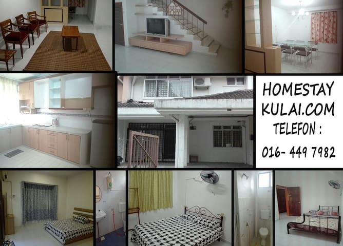 Great place to sleep - Kulai - House