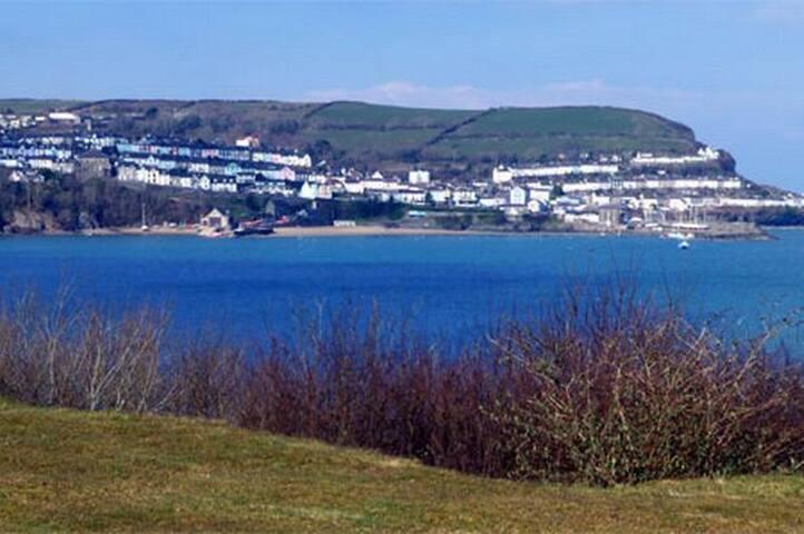 Beautiful private site New Quay near Aberaeron