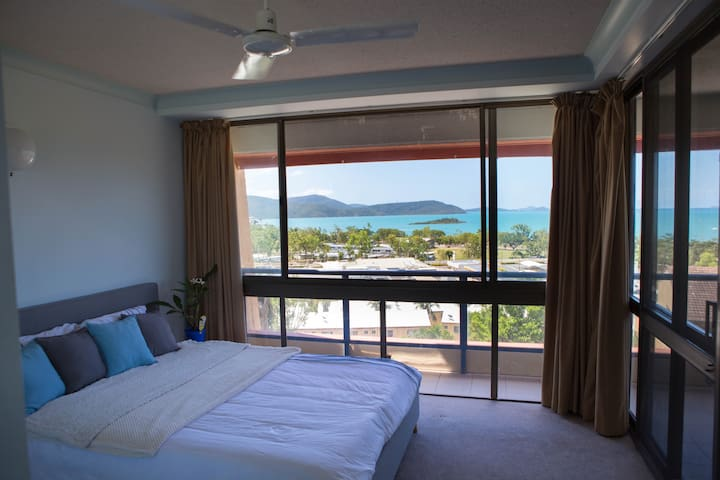 Stunning Seaview Queen Bedroom