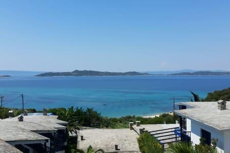 View from Arhontarikia Ouranoupoli