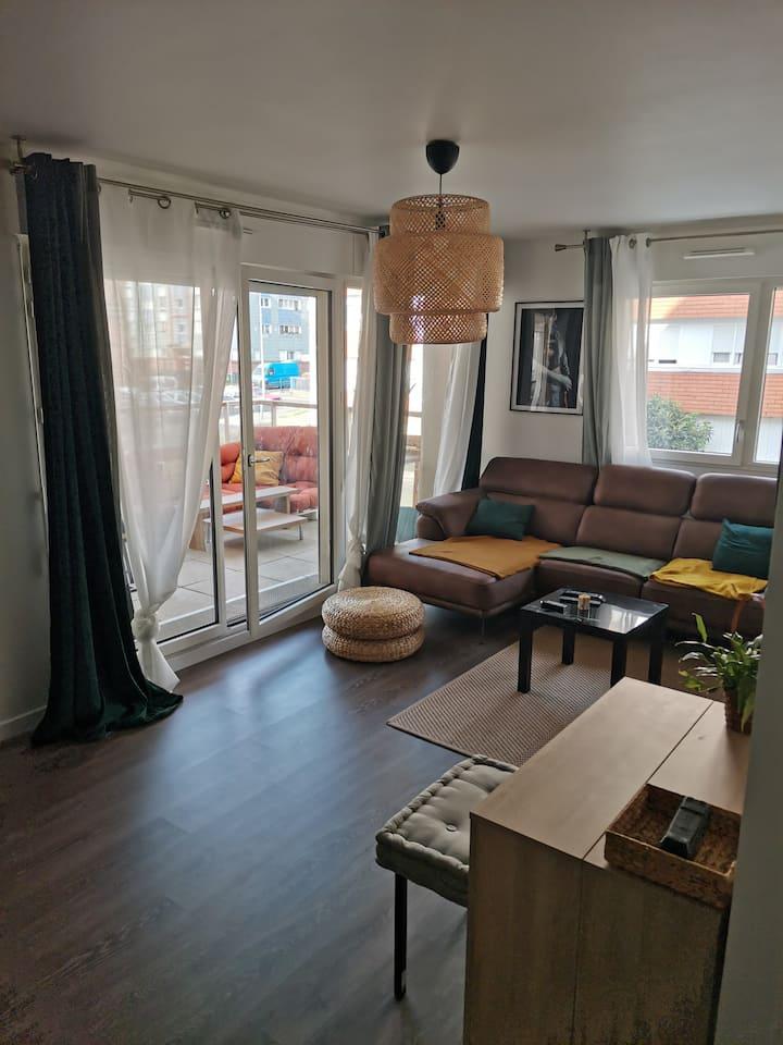 Appartement neuf et moderne, proche la Défense